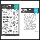 Hero Arts 'BUG YOU' Clear Stamps Only OR Stamp & Dies Bundle 2021