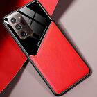 For Samsung Galaxy S21 Ultra S21 Plus S21 Case Slim Hybrid Leather Rubber Cover