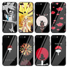 Naruto Anime Tempered Glass Case for Apple iPhone 11 Xr X XS Max 8 7 6 6s Plus