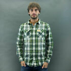 SuperDry Shirt Chess Mod. Vintage Checked Green