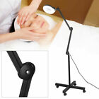110V LED Stand Floor Beauty  5x Magnifier Lamp Makeup Lamp Bright Not Dazzling