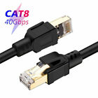 Cat8 Ethernet Cable CAT 8 Cat7 High Speed Modem LAN Patch Shielded Cord Wire Lot