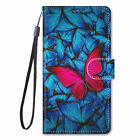 For Nokia 3.4 Painted Magnetic Leather Flip Wallet Bracket Strap Case Cover