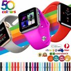 New Apple Watch Band Strap Silicone For Iwatch Serie Se6 5 4 3 2 1 38 40 42 44mm