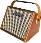Bluetooth rechargeable 15 watt portable guitar amplifier