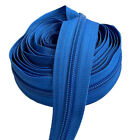 Continuous Chain Zipper YKK#5 Nylon Coil by The Yard Bulk Colorful -DIY Sewing