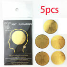 EMF Protection Sticker Scalar Radiation Protection Phone Laptop Golden Stickers
