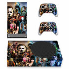 Xbox Series S X Slim Console Controller Skins Decal Horror Killers Michael Jason