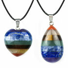 Healing Crystal Stones Pendant Natural Gemstone Jewelry With Adjustable Chain