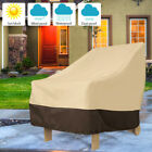 Uv Waterproof Stacking Chair Cover Outdoor Garden Patio Furniture Chairs Cover·