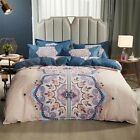 Shatex Comforter Queen Sets 3-Piece Microfiber with Pillow Shams,mysterious