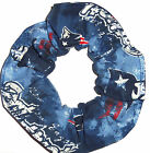 New England Patriots Fabric Hair Scrunchies Ties NFL Football Ties