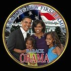 Obama And Family / Black T-Shirt / Sizes - S,M,L,XL
