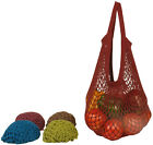 ECOBAGS®Organic String Shopping Bag~JEWEL TONE w/TOTE H