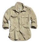 SURPLUS VINTAGE LONG SLEEVE SHIRT BDUMILITARY SECURITY ARMY TACTICAL COMBAT TOP