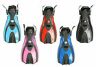 TBF ADULT FINS FLIPPERS - F70 - dive diving snorkel snorkelling COLOUR CHOICE