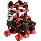 Boys Adjustable Quad Skates Child & Junior Sizes 12- 6