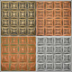 Painted Tin-Look R40 Ceiling Tiles Diff Colors