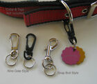 collar holders - DOG TAG CLIP Removable ID Holder for Collar it Silencer