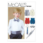 McCall's 7223 Sewing Pattern to MAKE Vest Waistcoat Cumberband Tie & Bow Tie