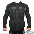 Mens Black All Season Cordura Touring BMW Commuter Scooter Motorcycle Jacket SM3
