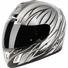 Nitro NGFP Talisman Motrbike Safety Crash Helmet White