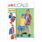 McCall's 6099 Sewing Pattern to MAKE Shirt Pull-on Trousers & Shorts Sewing Bee