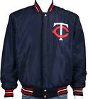 "MLB Minnesota Twins Jacket Nylon Reversible Wool Jacket Licensed  ""BLOWOUT"" SALE on Ebay"