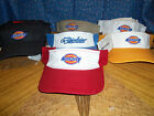 New Dickies Sun Visor  Variety of Colors Adjustable  U Chose   Use Drop Down Box
