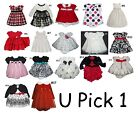 BABY GIRL DRESS PARTY SPECIAL OCCASION HOLIDAY WEDDING FANCY FLOWER 2 PIECE SET