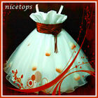 R818 Girl Kid Red X'mas Fairytale Party Flower Girls Dress SIZE 2,3,4,5,6,7,8,9T