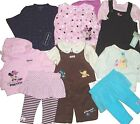 BABY GIRLS HUGE LOT OUTFIT POOH MINNIE 2 PC SET HOODIE TOP BOTTOM SHIRT PANTS