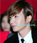 Korean Super Junior Lee teuk Black mini Stars SINGLE Stud SJ Cute made in Korea