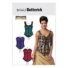 Butterick 5662 Sewing Pattern to MAKE Historic Laced & Boned Corsets & Basques