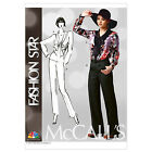 McCall's 6601 Sewing Pattern to MAKE Loose Fit Blouse & Tapered Trousers