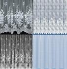 GREAT VALUE WHITE NET CURTAINS ~ 4 NET DESIGNS