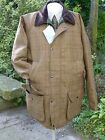 NEW WATERPROOF WOOL TWEED SHOOTING HUNT COAT/JACKET