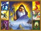 3261 THE GREAT WIZARD MULTIPIC FINE WALL ART FANTASY METAL WALL SIGN BRAND NEW