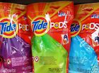 Tide Pods Clothes Laundry Detergent Stain Remover Brightener ~ Pick One
