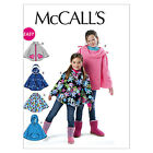 McCall's 6431 Sewing Pattern to MAKE Easy Girls' Capes/Ponchos - Sewing Bee 2016