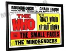 The Who Chalk Farm Roundhouse Concert Poster London 1968