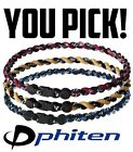 Tornado Phiten Necklace [You Pick!] Aqua Titanium Baseball MLB Running