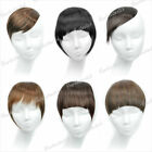 Free Ship New Synthetic Fiber Inclined/Neat Hair Bang/Fringe Hairpiece Wholesale