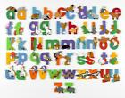WOODEN Lower Case JUNGLE ANIMAL ALPHABET LETTERS PERSONALISED BEDROOM WALL DOOR