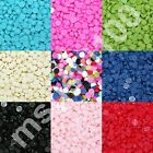 1000 HALF PEARLS ROUND FLAT BACK ACRYLIC GEMS NAIL ART CRAFTS 3D DECORATION NEW
