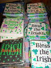 NIP St. Patrick's Day Party Supplies Plates Napkins  Use Drop Down Box Chose