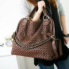 Korean style Lady Hobo Synthetic leather handbag shoulder bag PU H2