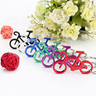 2x Bike Bicycle Metal Finger Keychain Keyring Bottle Wine Opener Bar Beer Tool