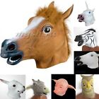 Creepy Horse Head Mask Animal Costume Prop Gangnam Style Toy Party Halloween New