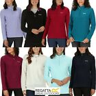 Regatta Womens / Ladies Sweethart Half Zip Micro Light Weight Fleece Sweater